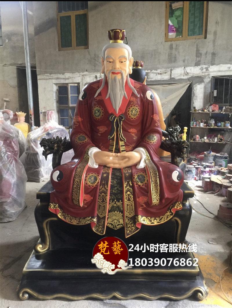 三清神像高2.2米