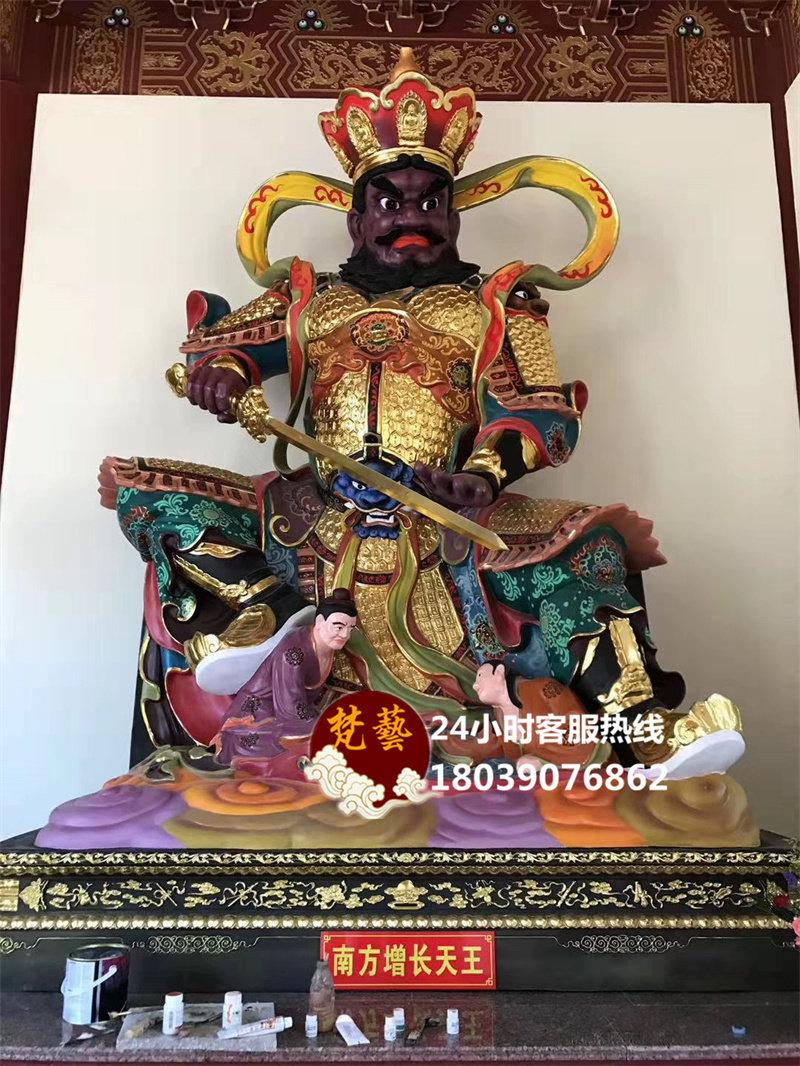 四大天王高3.6米(坐像)